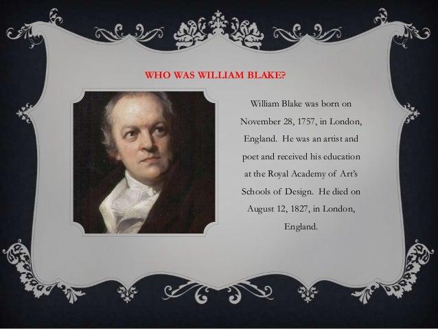 william blake autobiography