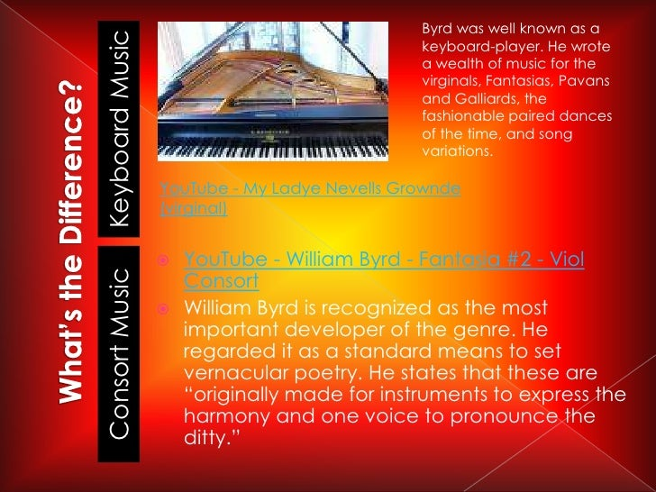 the life and music of william byrd William byrd was born in lincolnshire, probably in 1543  songs & sonnets:  some solemne, others joyful, framed to the life of the words: fit for voyces or.