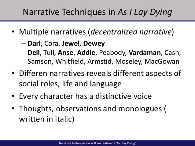 as i lay dying character essays