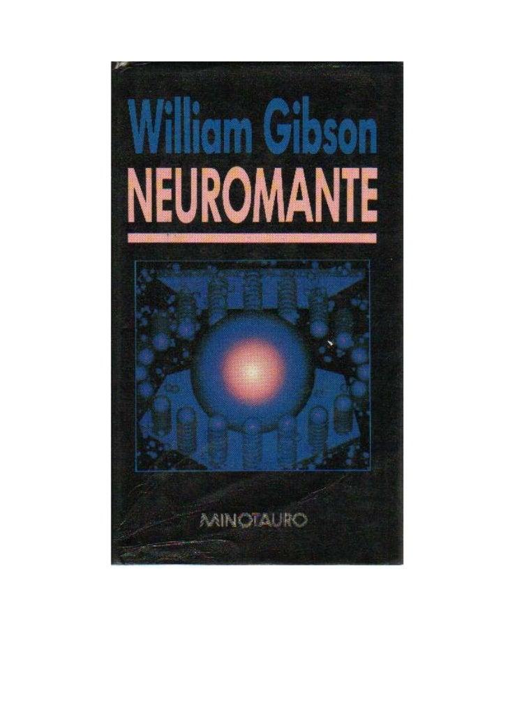 WILLIAM GIBSONNeuromante