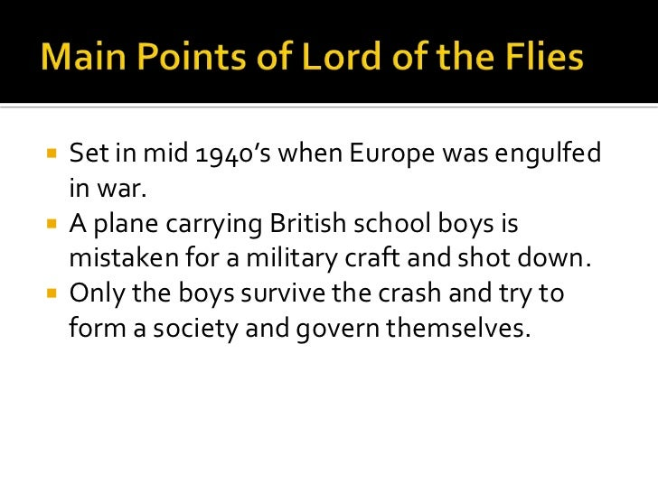 the theme of need for civilization in the novel lord of the flies by william golding The symbolism of power in william golding's lord of the flies an important theme in william golding's novel lord of the flies is social power relations these power relations are everywhere.