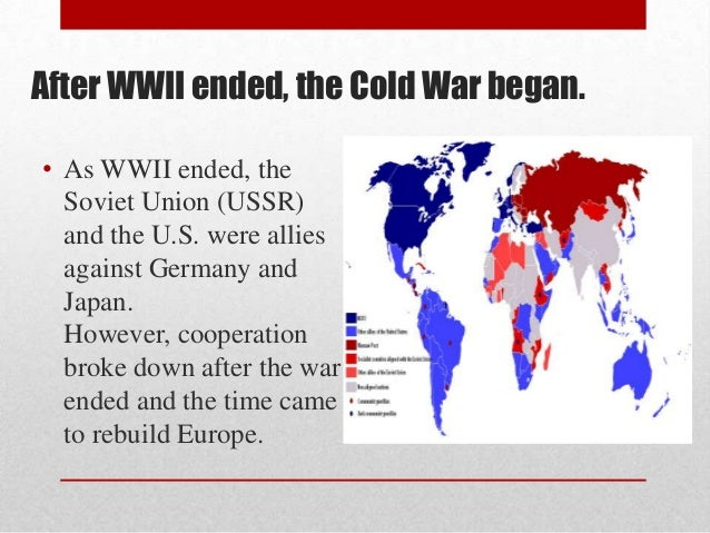 why the cold war ended Twenty-five years ago this week, the soviet union ceased to exist and the cold war ended moscow lost, washington won i'm not one for.