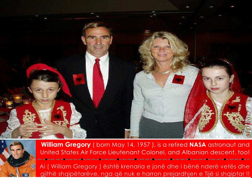 MD 2012 / VWilliam Gregory ( born May 14, 1957 ), is a retired NASA astronaut andUnited States Air Force Lieutenant Colone...