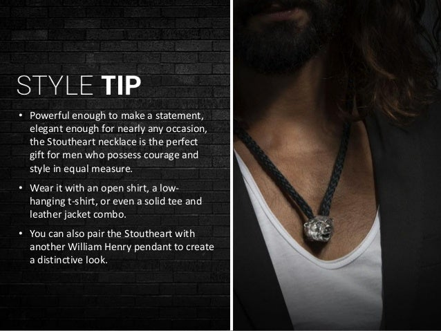 William Henry Real Men Wear Jewelry