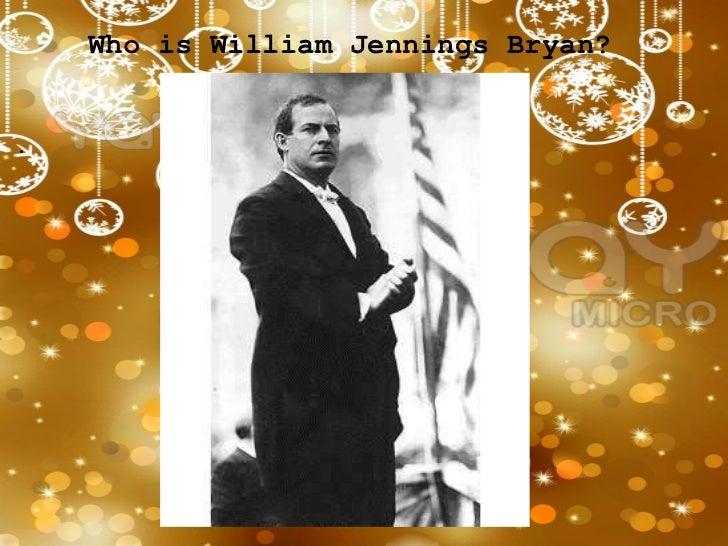bryan s cross of gold speech vs Cross of gold speech a speech delivered by william jennings bryan at the democratic national convention in chicago that occurred in 1896 bryan supported bimetallism, or free silver, which he believed would bring the naiton prosperity.