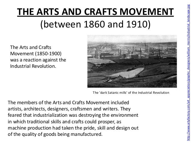 The Arts And Crafts Movement Facts