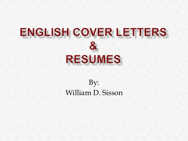 By: William D. Sisson