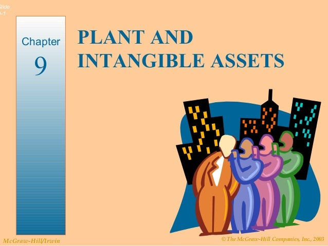 © The McGraw-Hill Companies, Inc., 2003McGraw-Hill/Irwin Slide 9-1 PLANT AND INTANGIBLE ASSETS Chapter 9