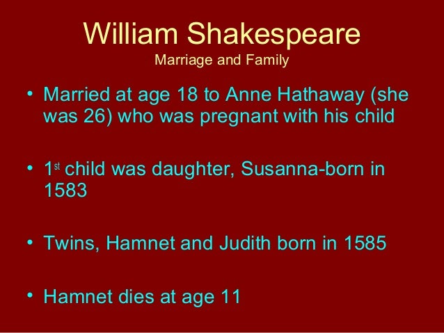 William Shakespeare powerpoint SlideShare