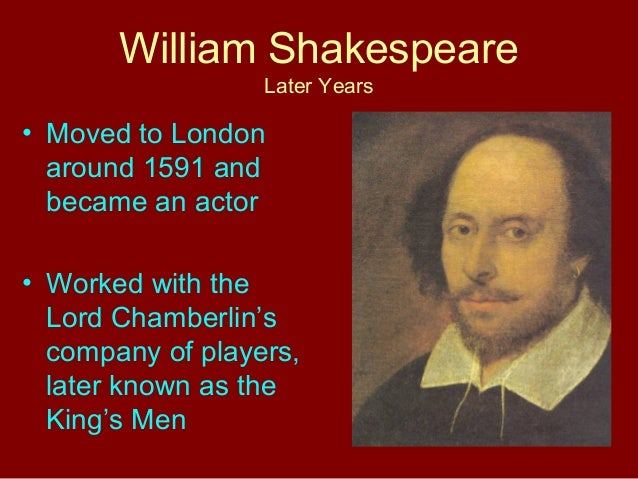 william shakespeare powerpoint william shakespeare