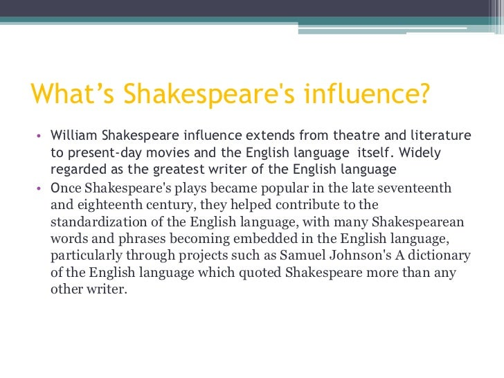 macbeth influence The essay that follows was researched and written by jennifer riedel as part of the course on shakespeare by individual studies, 1995 it is reprinted here with her permission while.