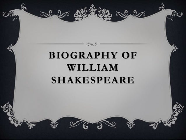 a life biography of william shakespeare born in stratford on avon William shakespeare was born in stratford-upon-avon in april 1564  william  shakespeare's birthplace william shakespeare's grave holy trinity church in.