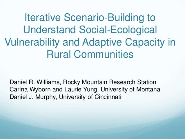 Daniel R. Williams, Rocky Mountain Research StationCarina Wyborn and Laurie Yung, University of MontanaDaniel J. Murphy, U...