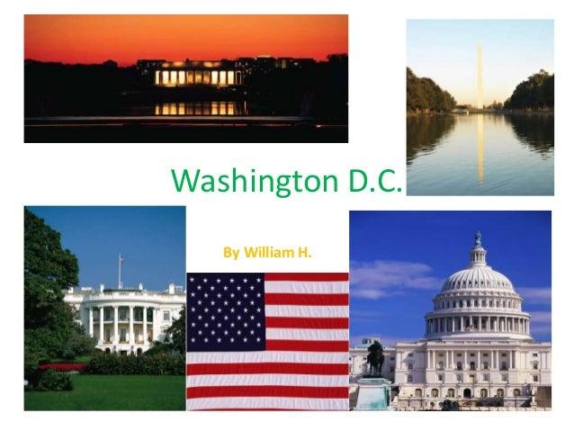 Washington D.C. By William H.