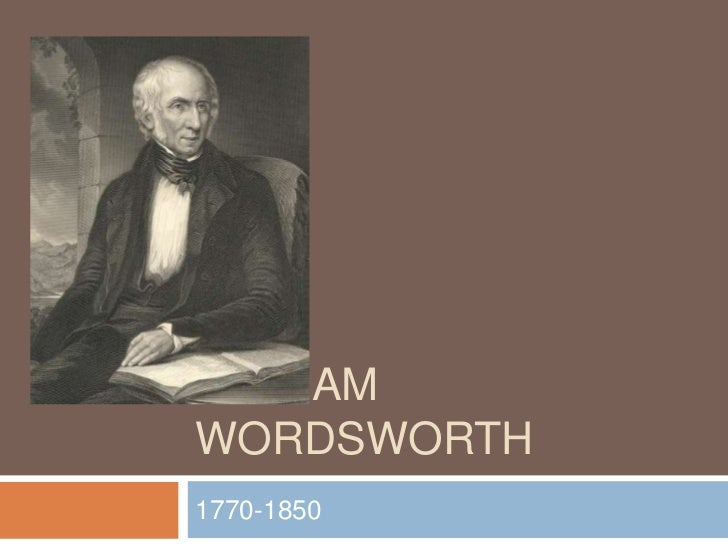 William Wordsworth<br />1770-1850<br />