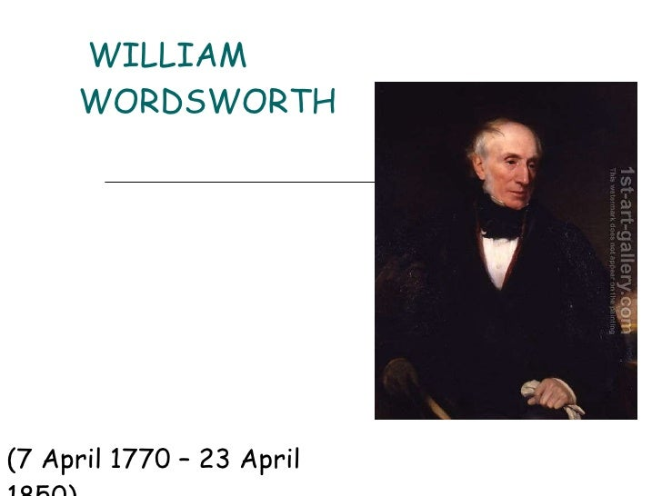an analysis of william wordsworths the world is too much with us The world is too much with us analysis william wordsworth was a simplistic  romantic poet, unlike his counterparts he uses un-vague and.