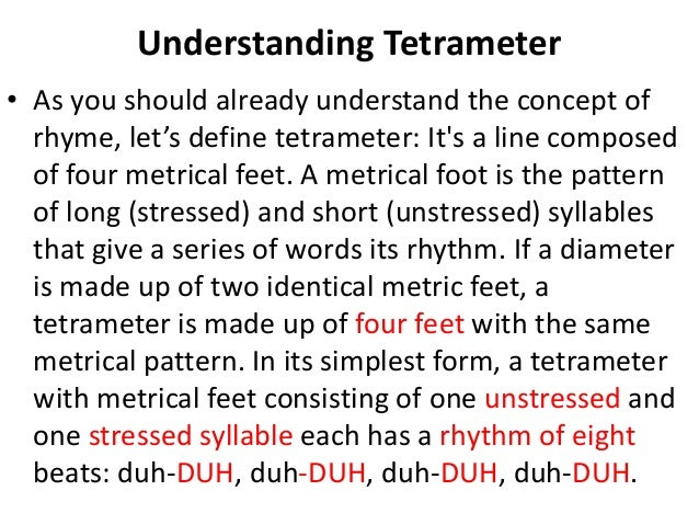 How to Write a Poem in Iambic Pentameter