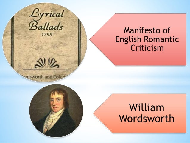 romantic themes used by william wordsworth essay William wordsworth  if the subject matter and ambiance are affected by wordsmith's life then so would the themes and images of the poems  romanticism art.