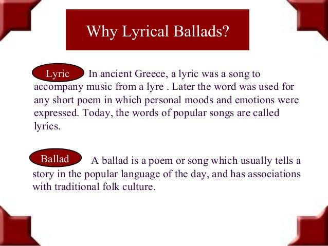 Preface to Lyrical Ballads William Wordsworth 1800