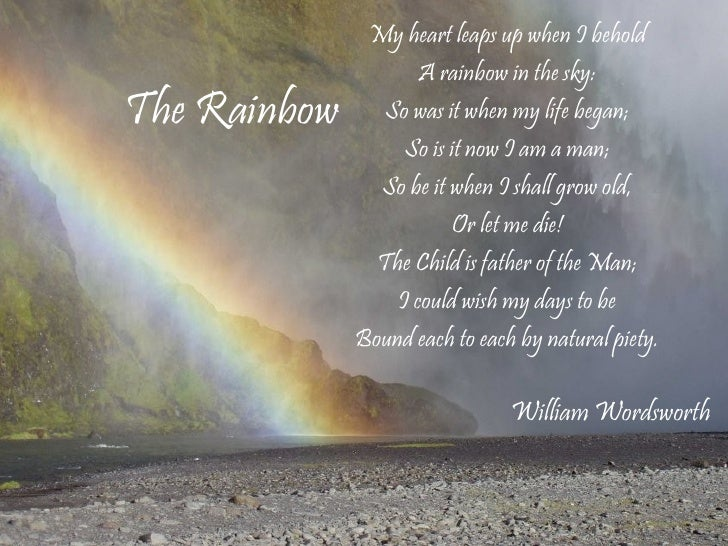 The Connection Of Man And Nature In The Poems Of William