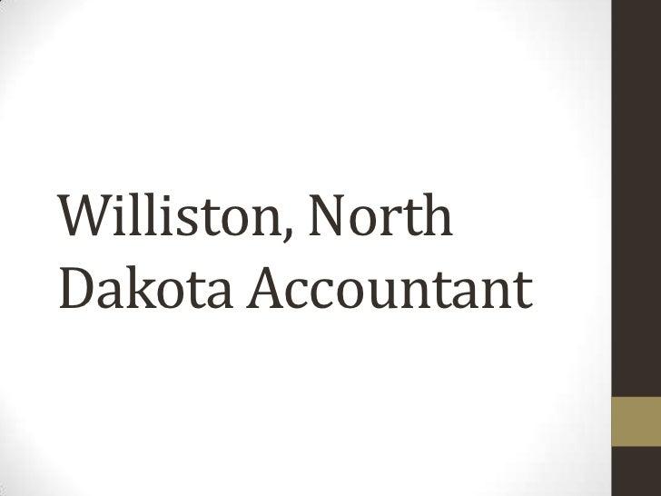 Williston, NorthDakota Accountant