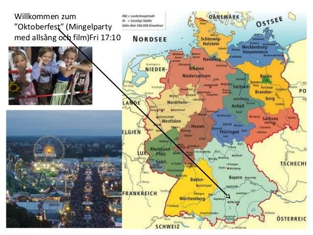 """Willkommen zum  """"Oktoberfest"""" (Mingelparty  med allsång och film)Fri 17:10"""