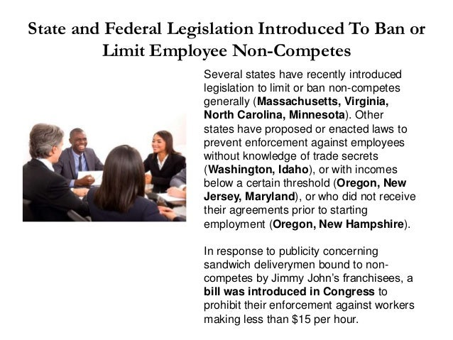 The Reserve Clause and Employee Non-Compete Agreements - Will the Inf…