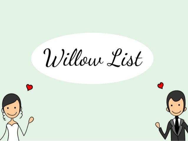 Willow List - Boyd Venture Fund