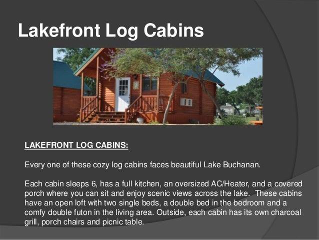 Gentil 3. Lakefront Log Cabins ...