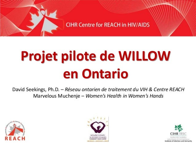 David Seekings, Ph.D. – Réseau ontarien de traitement du VIH & Centre REACH Marvelous Muchenje – Women's Health in Women's...