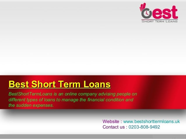 Best Short Term Loans >> Will Short Term Loans Manage Your Personal Needs