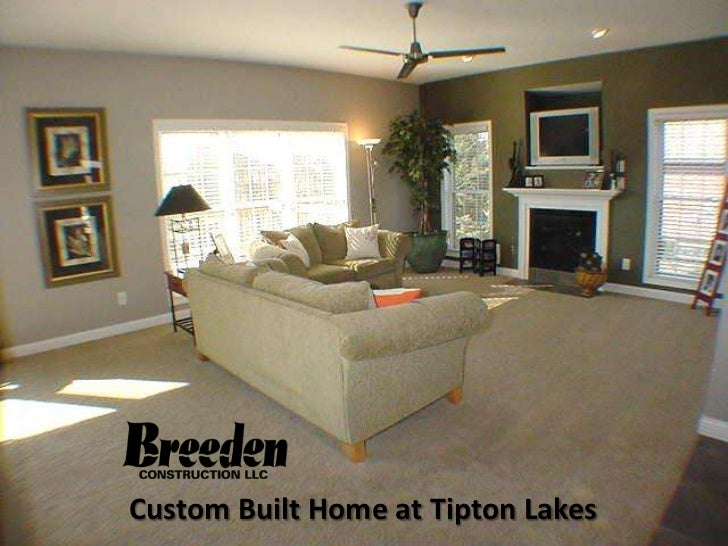 Custom Built Home at Tipton Lakes