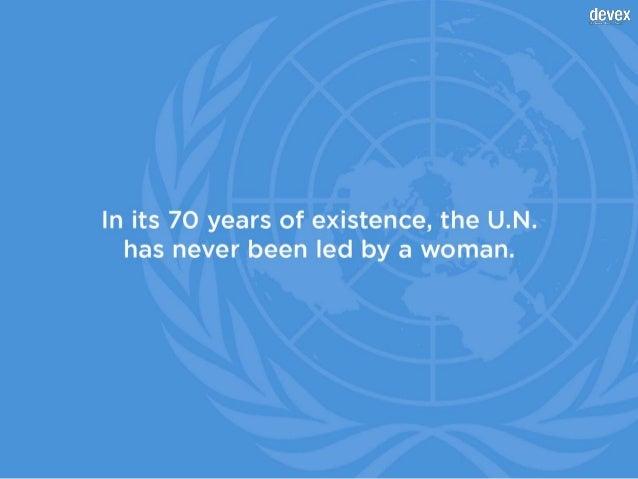 Will the 9th U.N. secretary-general be a woman? Slide 2