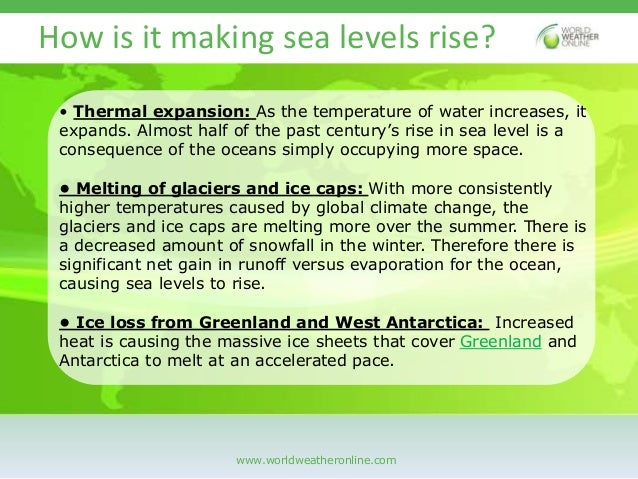 Will the Pacific Islands start to disappear Slide 3