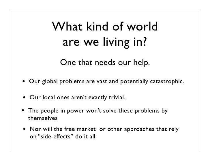 Will we be smart enough soon enough  - putting civic intelligence into practice.key Slide 2