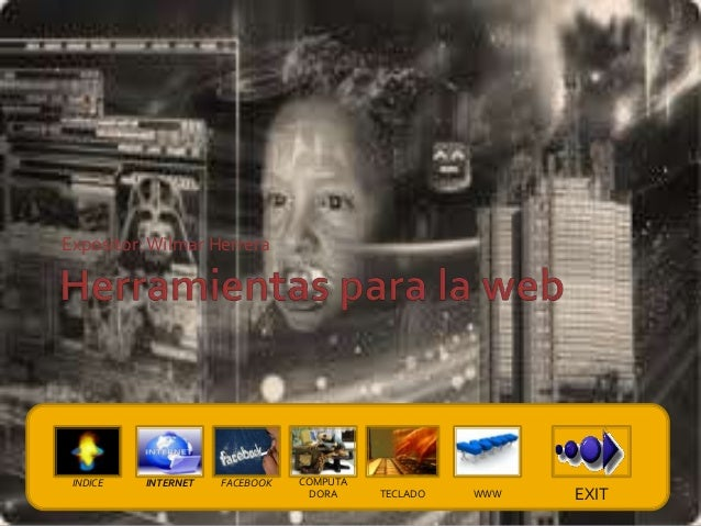 Expositor: Wilmar Herrera INDICE   INTERNET   FACEBOOK   COMPUTA                                  DORA    TECLADO   WWW   ...