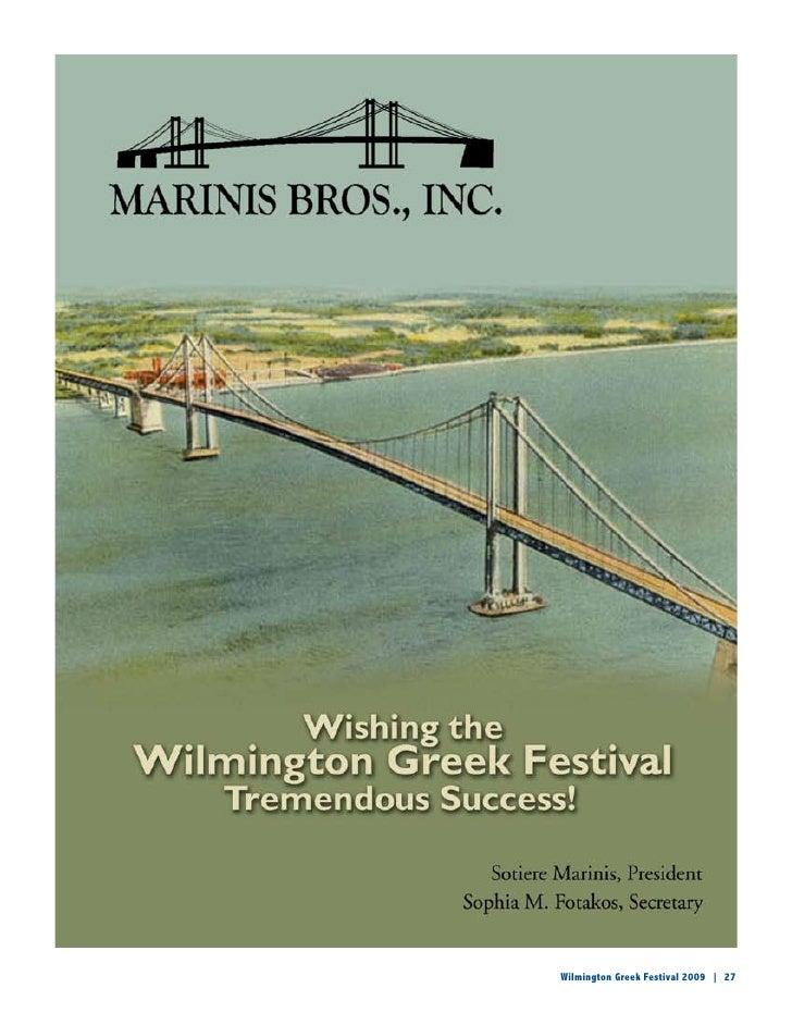 Wilmington Greek Festival Ad Book 2009 Lowres
