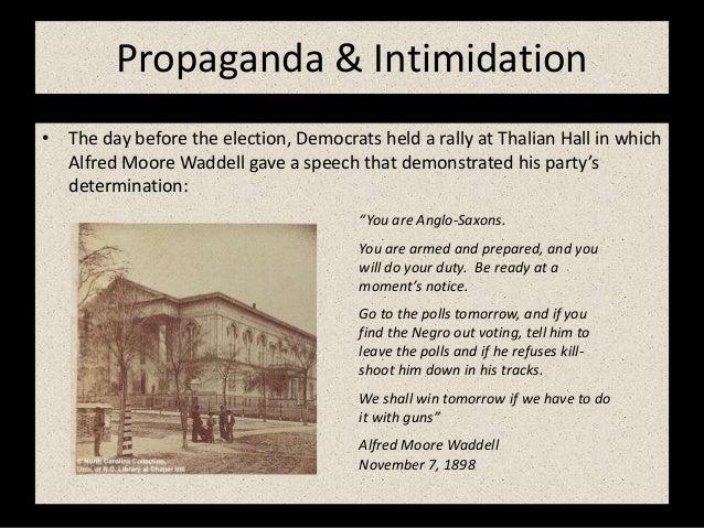 Image result for Waddell's Thalian Hall speech