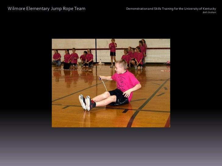 Wilmore Elementary Jump Rope Team Slide 2