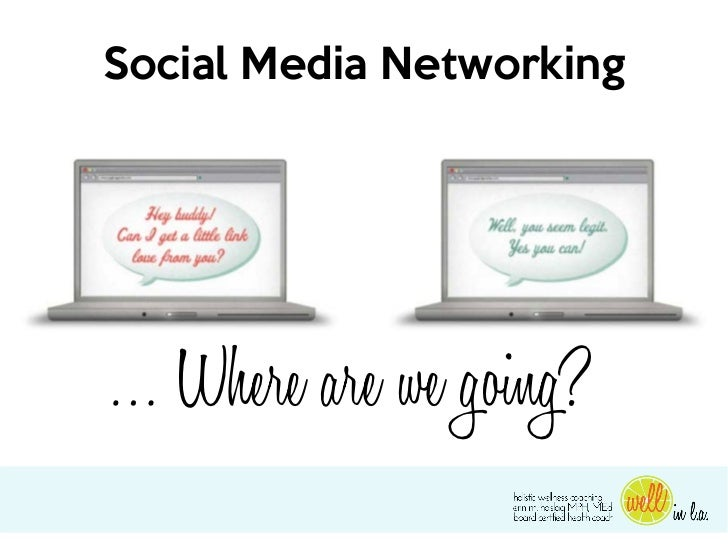Social Media Networking… Where are we going?