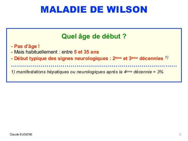 maladie de wilson signes diagnostic traitement. Black Bedroom Furniture Sets. Home Design Ideas