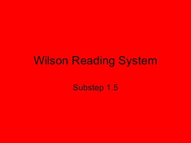 wilson 1 5