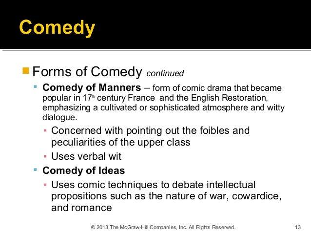 comedy of ideas
