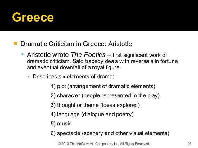 22 23  Ef 82 A1 Dramatic Criticism In Greece Aristotle  Ef 82 A7 Aristotle Wrote The Poetics