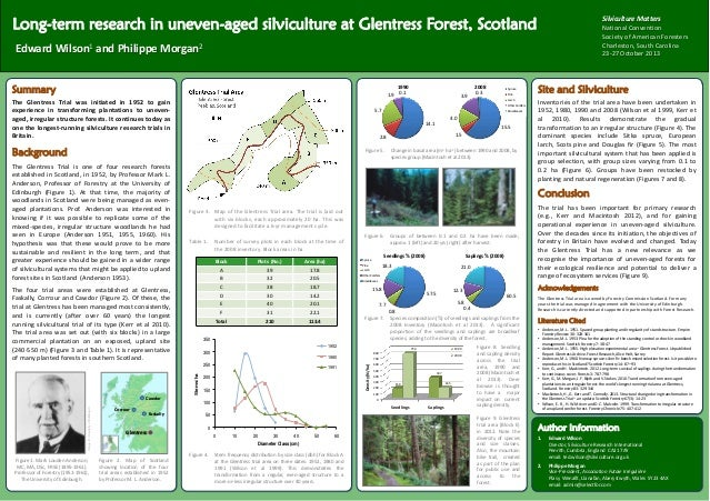 Long-term research in uneven-aged silviculture at Glentress Forest, Scotland  Silviculture Matters National Convention Soc...