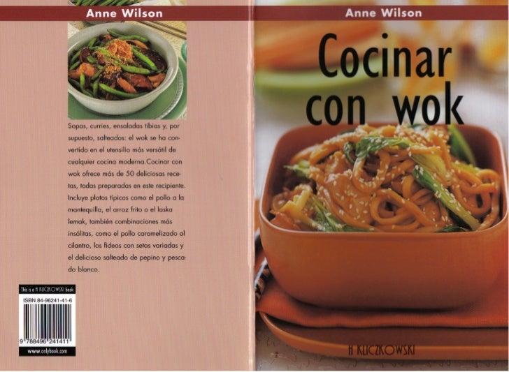 Wilson anne cocinar con wok for Cocinar wok en casa