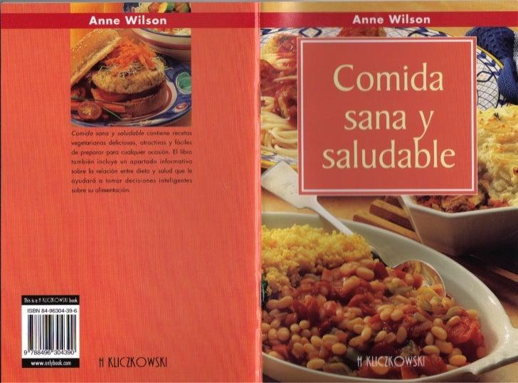 Wilson Anne - Comida Sana y Saludable