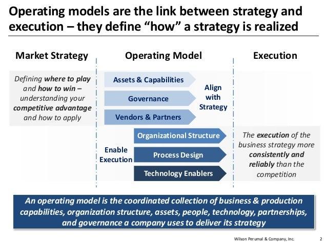 Wilson perumal   operating model design Slide 2