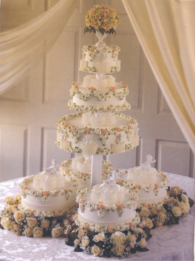 Wilton Wedding Dream Cakes