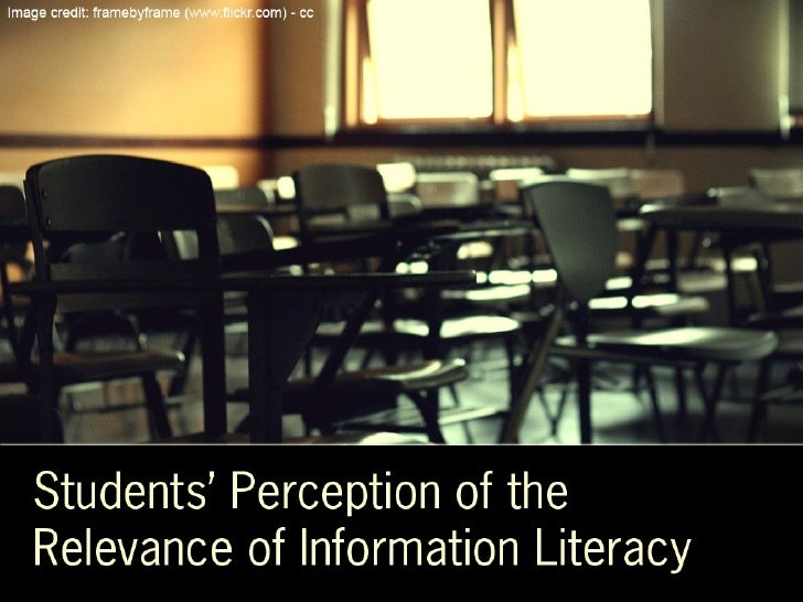 Perceptions of Information Literacy